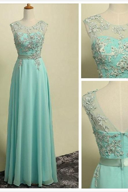 Prom Dresses, A Line Pink Prom Dresses, Lace Long Prom Dresses, Evening Formal Dress