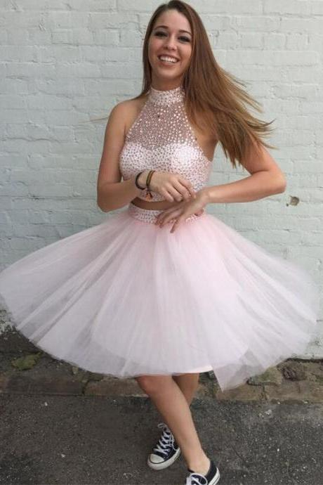 Sweetheart Homecoming Dress, Lovely Homecoming Dress, Two-piece Homecoming Dresses