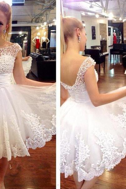 Sweetheart Homecoming Dress,Lovely Homecoming Dress,Wedding Dress,Homecoming Dresses